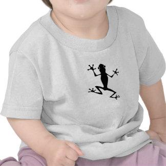 Climbing Frog Silhouette T-shirt