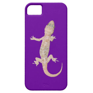 Climbing Gecko on Purple iPhone 5 Covers