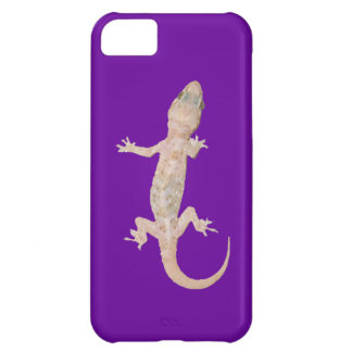 Climbing Gecko on Purple iPhone 5C Case