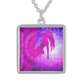 climbing in the soul sterling silver necklace