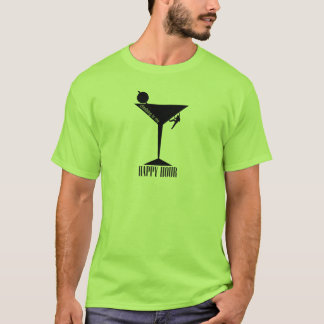 Climbing Is My Happy Hour T-Shirt