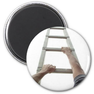 Climbing Jacob s Ladder Fridge Magnet