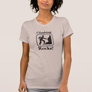 Climbing Rocks! - Hiker T-Shirt (Light)