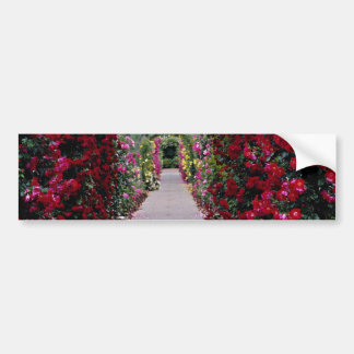 Climbing Rose Arches flowers Bumper Sticker