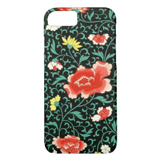 Climbing Rose, Daisies and Mumms iPhone 7 Case