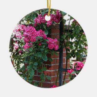 Climbing Rose Wall Ornament