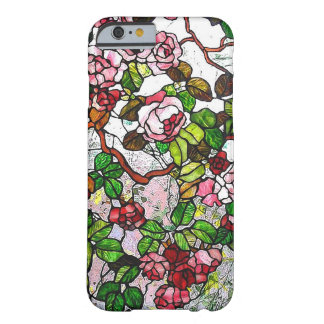 Climbing Roses - stained glass Barely There iPhone 6 Case