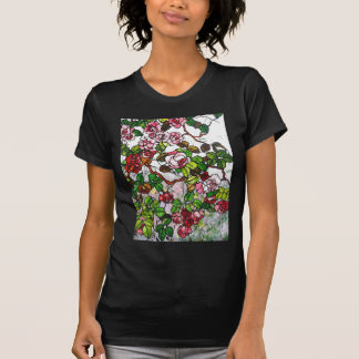 Climbing Roses - stained glass Tees