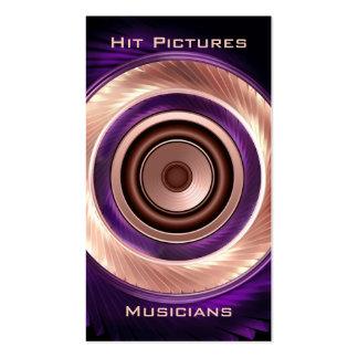 Climbing Round Musician Deejay Vertical Bsns Cards Pack Of Standard Business Cards