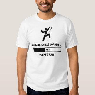 Climbing Skills Loading Tshirt