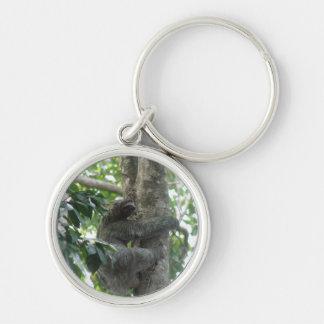 Climbing Sloth Keychain