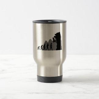 Climbing Stainless Steel Travel Mug