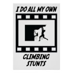 Climbing Stunts Posters