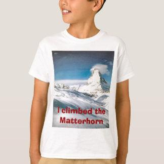 Climbing the Matterhorn T-shirts
