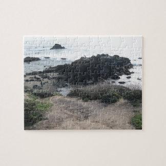Climbing the Rocks on a Cambria Beach Puzzles