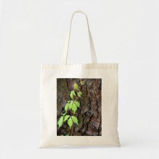 Climbing Vine Budget Tote Bag