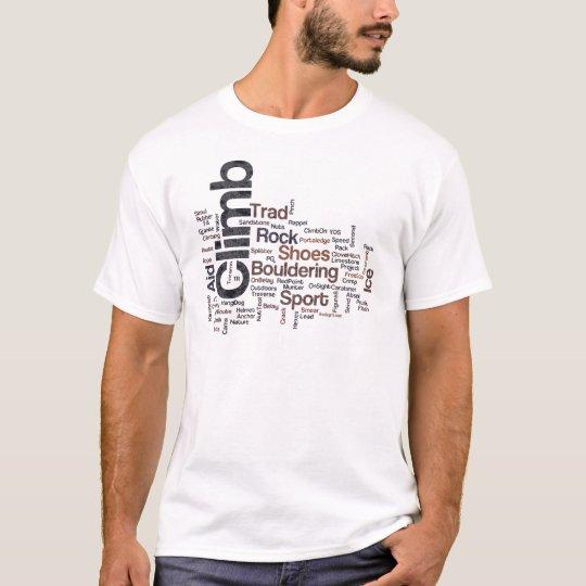 Climbing Words T-Shirt