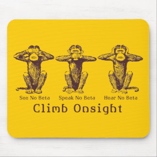 ClimbOnsight! Mouse Pad