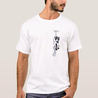 Clingy Alaskan Malamute T-Shirt