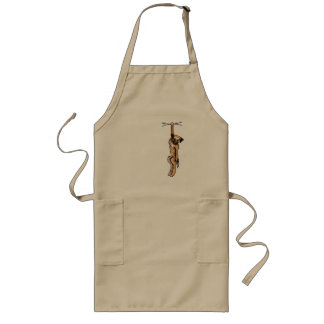 Clingy Border Terrier Long Apron