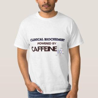 Clinical Biochemist Powered by caffeine T Shirts