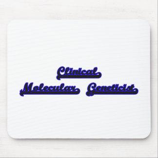 Clinical Molecular Geneticist Classic Job Design Mouse Pad
