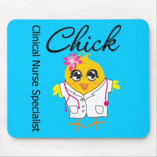 Clinical Nurse Specialist Chick v2 Mouse Pads