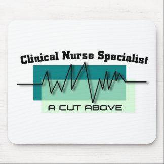 """Clinical Nurse Specialist"" Mouse Pads"