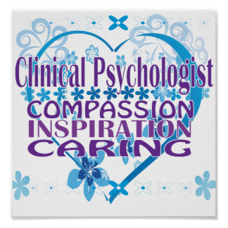Clinical Psychologist Poster and Gifts