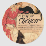 Clinique Cheron Round Sticker