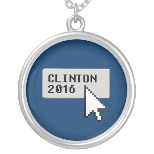 CLINTON 2016 CURSOR CLICK CUSTOM JEWELRY