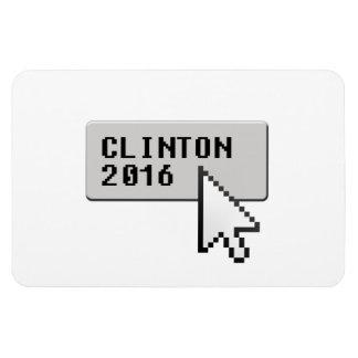 CLINTON 2016 CURSOR CLICK MAGNET