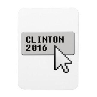 CLINTON 2016 CURSOR CLICK FLEXIBLE MAGNET