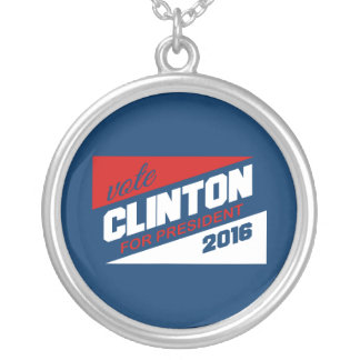 CLINTON 2016 SUPPORTER PENDANTS