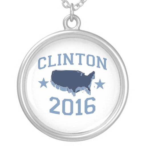 CLINTON 2016 UNITER NECKLACE
