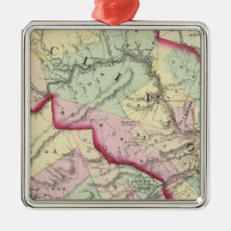 Clinton, Centre counties Christmas Ornament