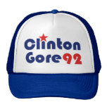 Clinton Gore 92 Retro Democrat Mesh Hats