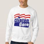 Clinton Gore for President 1992 Sweatshirt
