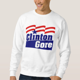 Clinton Gore for President 1992 Sweatshirt