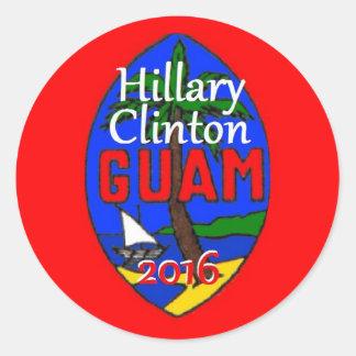 Clinton Guam 2016 Sticker