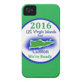 Clinton Virgin Islands 2016 iPhone 4 Case-Mate Cases