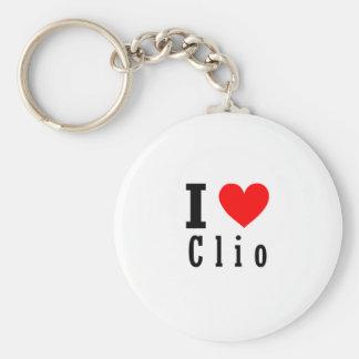 Clio, Alabama City Design Key Ring