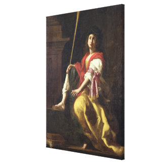Clio, Muse of History, 1624 Canvas Print