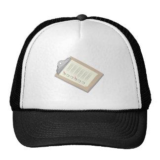 Clip Board Trucker Hat