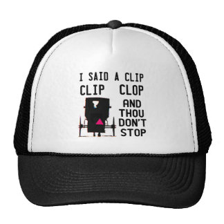 CLIP CLOP HIP HOP TRUCKER HAT