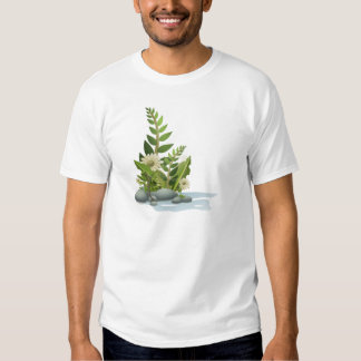 Clipart Plants, Pebbles, and Flowers T-shirts