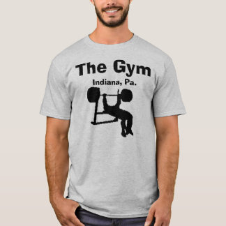 clipart, The Gym, Indiana, Pa. T-Shirt