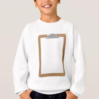 Clipboard Background Sweatshirt