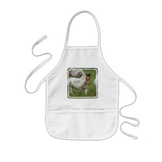 Clipped Paint Horse Children s Smock Apron