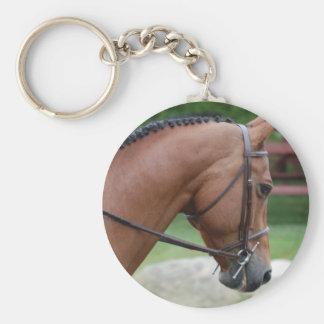 Clipped Pony Keychain